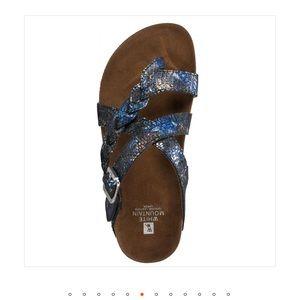 White Mountain Hansen Leather Footbeds
